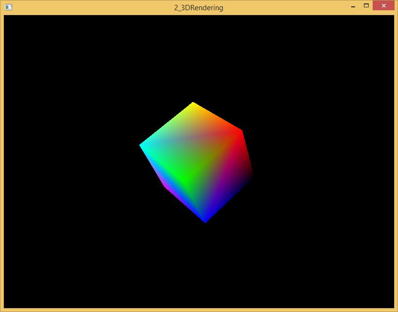 A Rotating 3D Cube! Woah!